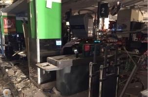 Бомба сработала в «Перекрестке»