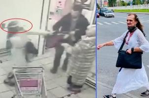 «Дама» с топором провел атаку в московском магазине