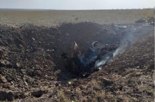 Под Буденновском разбился Су-25