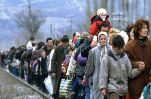 Беженцы, гражданская война