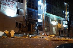 Взрыв офиса «волонтерской сотни»