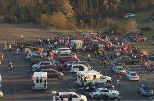 22 болельщика автогонок NASCAR пострадали в ДТП