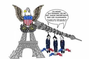 Франция не может позволить себе тайн от разведки США