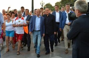Берлускони: в Крым, к Путину